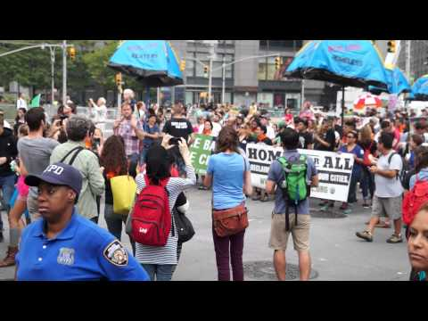 NYC People's Climate March - 300 Thousand Strong