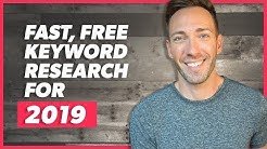 Easy Keyword Research for 2019: Find Wildly Profitable Keywords