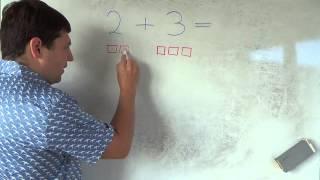 Математика 1 класс. 12 сентября. Сложение чисел  Часть 1
