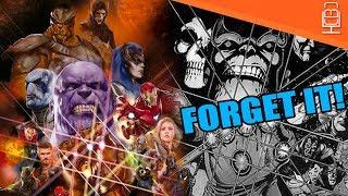 Avengers Infinity War IS NOTHING like Infinity Gauntlet