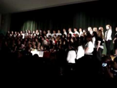 samantha in christmas musical at bryan middle school.wmv