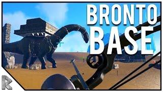 BRONTO BASE RAID! - Ark Survival Evolved Thieves Island PVP S2#11
