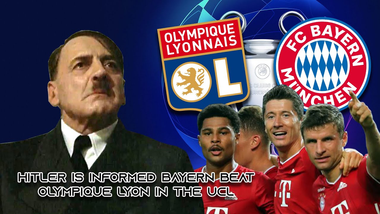 Hitler is informed Bayern beat Olympique Lyon in the UCL - (Downfall /// Der Untergang Parody)