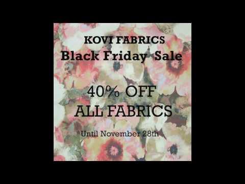 Kovi Fabrics Black Friday Sale