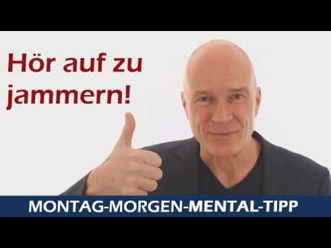 Mental Tipp Hör auf zu jammern