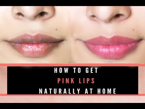 How To Make Lips Pink Naturally | Home Remedies in Hindi Urdu