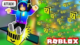 BECOMING THE KING OF BEES In Roblox Bee Swarm Simulator!