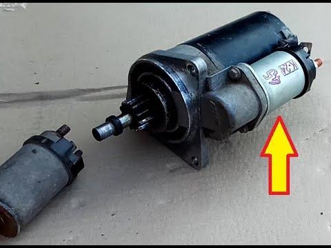 Как заменить втягивающее реле стартера ваз 2109