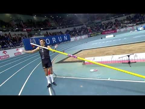 Armand Duplantis NEW Indoor WORLD RECORD 6.17m | Toruń 8.2.2020