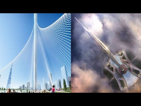 Dubai Creek Tower Mega Project : UAE  Constructing The World Tallest Skyscraper(1300M): Dubai 2021