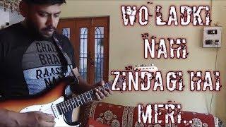 Wo Ladki Nahi Zindagi Hai Meri || Babul Supriyo Alka Yagnik || Guitar Instrumental