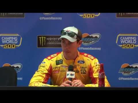 2017 NASCAR Phoenix Post Qualifying Q&A
