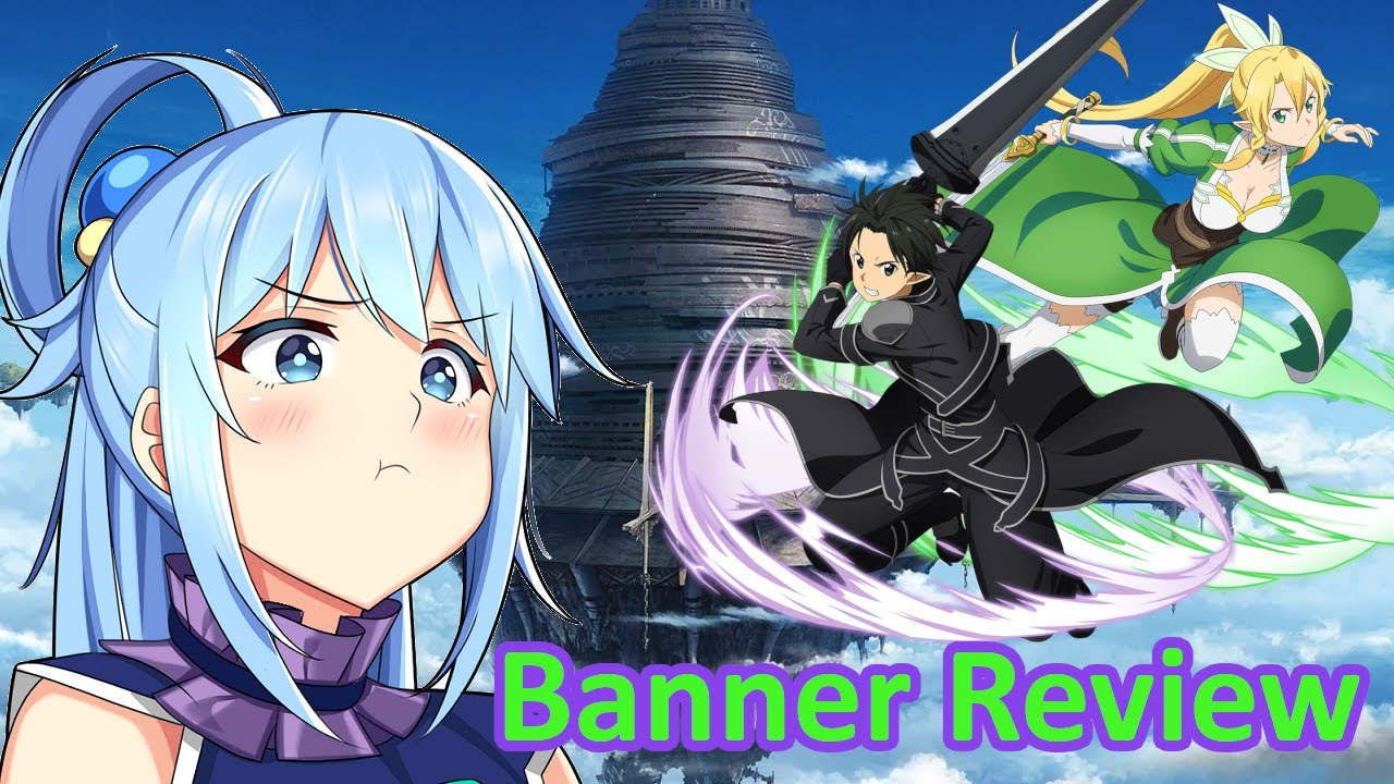 NICE TRY BANDAI. YOU CAN DO BETTER!! | SAO Memory Defrag Banner Review