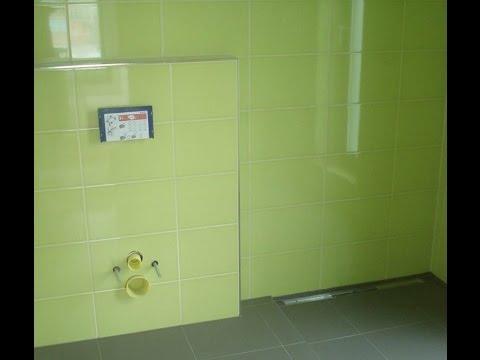 vstavba koupelny green style bathroom badezimmer - Badezimmer Grn