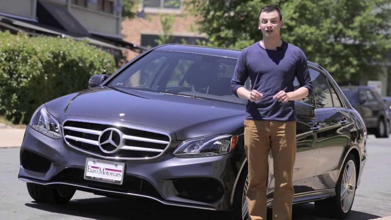 2014 MercedesBenz EClass E350 Sport Sedan  YouTube