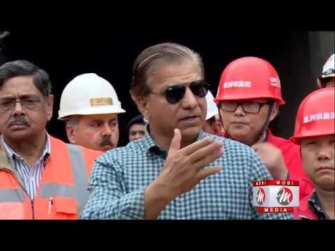 Neelum Jhelum Hydropower Project set to start electricity generation.