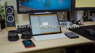Transfer Any File From a PC to iPad Wireless and Back