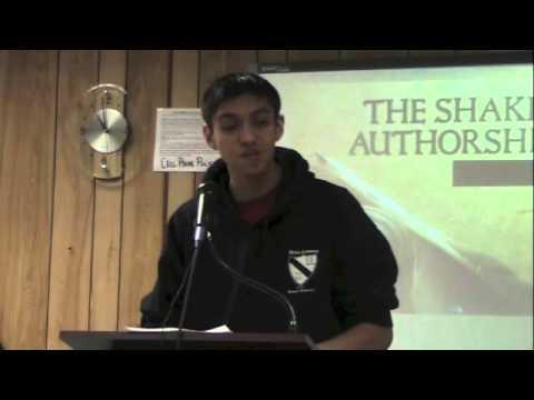 Authorship Debate By Manuel Villegas:Isaiah Chaparro vs Shania Angel: Dario Martinez