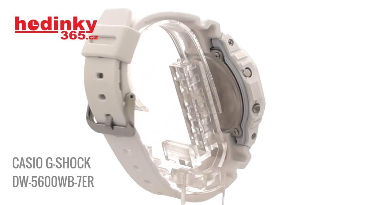 Casio G-Shock DW-5600WB-7ER - YouTube 4db83d21af2