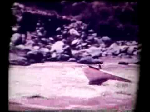 Colorado River 1960 world first jet boat upstream