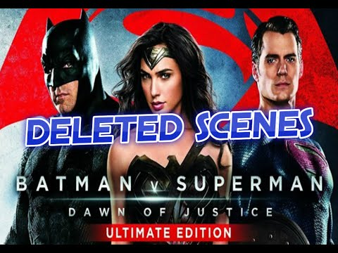 Batman V Superman Ultimate Edition Deleted Scenes Explained - Arkham Asylum, KGBeast And More!