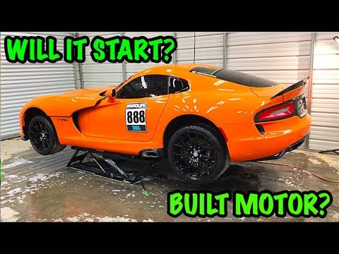 Rebuilding A Wrecked 2014 Dodge Viper TA TIME ATTACK PART 2