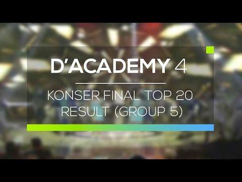Highlight D'Academy 4 - Konser Final Top 20 Result (Group 5)