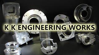 K K Engineering Works Fabrication Chimneys Screw Jack For Aerospace At Mahadevapura In Bengaluru