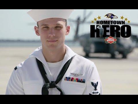 Hometown Hero: Navy Petty Officer 3rd Class Tyler Grove