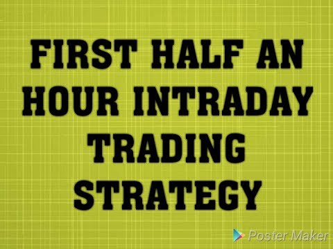 #1 First Half An Hour Intraday Strategy. by Apna Channel