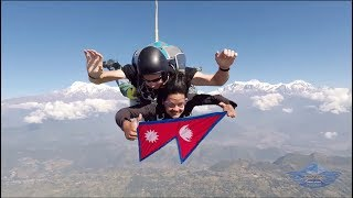 Skydiving in Nepal ( with best pilot 20,000+ more dives)