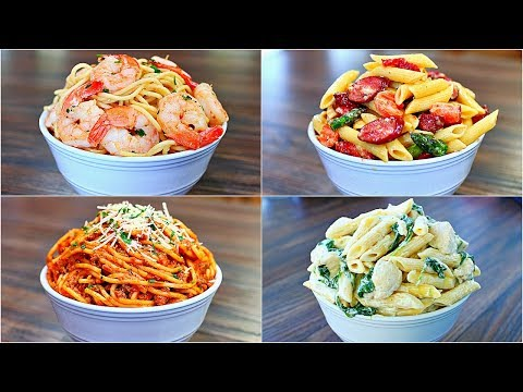 4 Great Pasta Recipes – Easy and Delicious Pasta Dinner Recipes