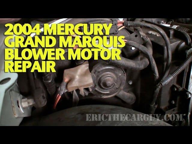 2004 Mercury Grand Marquis Blower Motor Repair -EricTheCarGuy - YouTube | 2003 Mercury Grand Marquis Blower Motor Wiring |  | YouTube