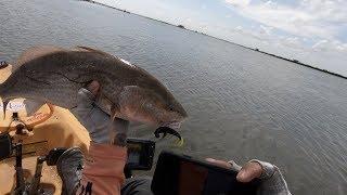Kayak fishing Port O'Connor Texas