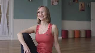 Йога. Наталия, преподаватель йоги-Айенгара