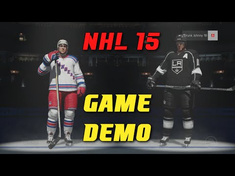 NHL 15 - Demo Versus Game (Xbox One Gameplay)