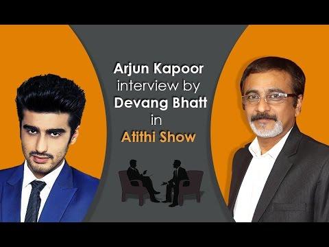 Bollywood Movie Actor Arjun Kapoor | Ki & Ka Fame | Interview by Devang Bhatt