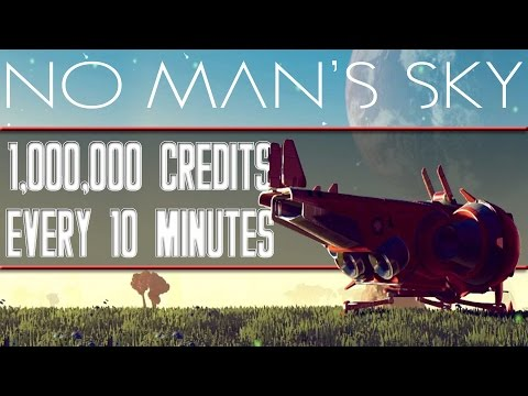 No Man's Sky - Best Money Making Methods (1,000,000 Credits Every 10 Minutes)