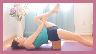 Yoga Stretches for Injured Knees {30 min}