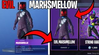 *NEW* UNLOCK Evil Marshmellow Skin... EASIEST! Fortnite 2019 Season 7