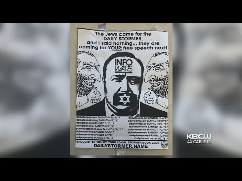 Locals Offer Support To East Bay Synagogue In Wake Of Racist Flyers