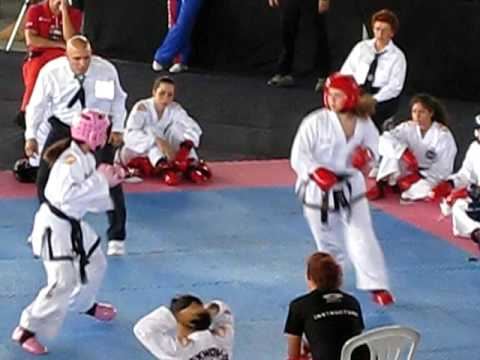 Taekwon do pan american games in puerto rico 2009