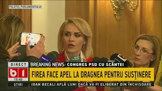 Gabriela Firea, înainte de CEx-ul PSD: Miniștrii care nu își fac datoria trebuie să plece