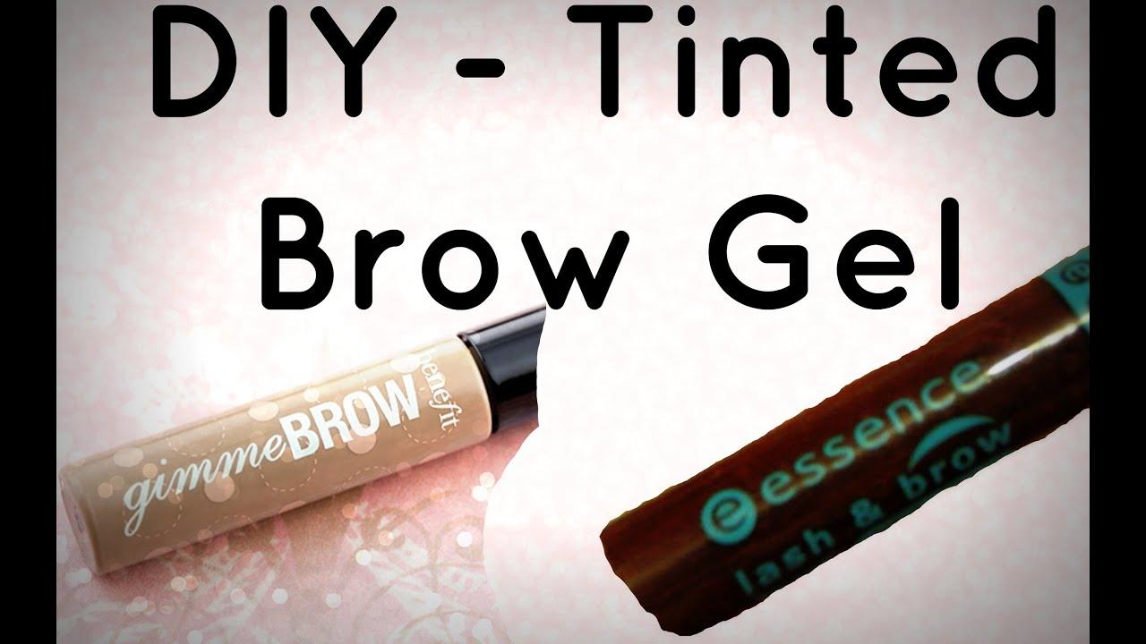 Diy Tinted Brow Gel Youtube
