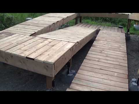 Wheelchair ramp build part 2