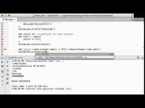 Java 8 Streams: Why Should You Use Them? Speed!