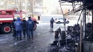 Пожар,на алексеевской Ярмарке, Харьков.