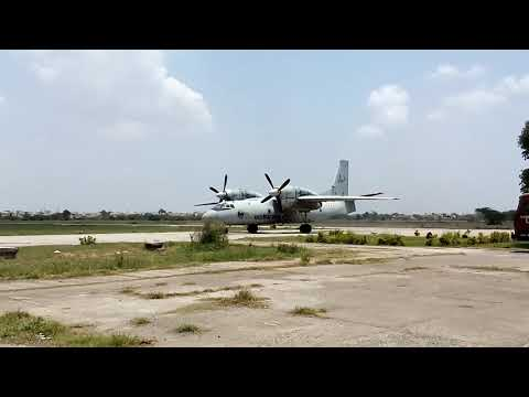 Antonov-32(An-32) twin engine[turboprop] aircraft of Indian Air Force