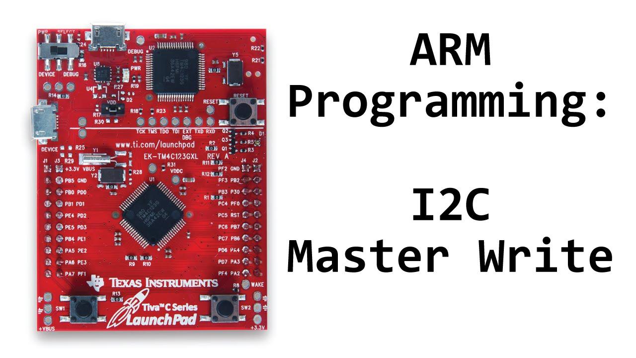 TM4C123 Tutorial: I2C Communication