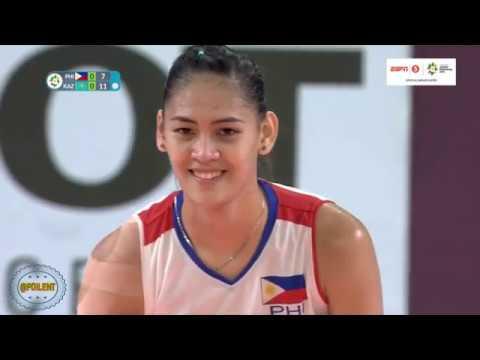 Jaja Santiago Asian Games 2018 Highlights